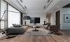 Mẫu thiết kế nội thất phòng khách gỗ nhà phố đẹp, quý phái cho không gian sống hiện đại