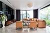 Thi công nội thất phòng khách hiện đại vô cùng ấn tượng, đơn giản và sang trọng
