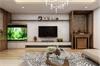 Ý tưởng thiết kế phòng khách nhà ống có bàn thờ đẹp hợp phong thủy