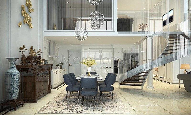 Thiết kế căn hộ Pentstudio Tây Hồ