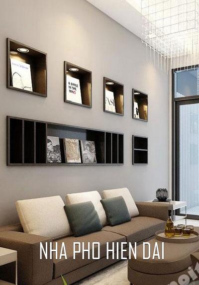Thiết kế nội thất nhà phố hiện đại, đẹp, sang trọng, trẻ trung - Nhà chị Chi