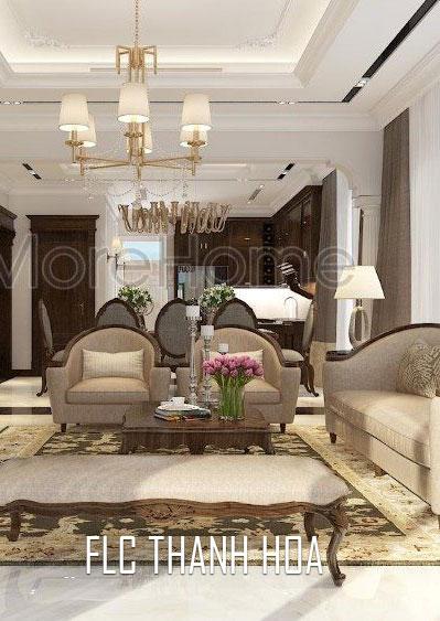 Thiết kế biệt thự tân cổ điển cao cấp tại FLC Thanh Hóa