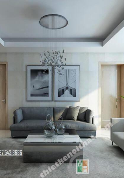 Thiết kế nội thất chung cư cao cấp Thăng Long Number One