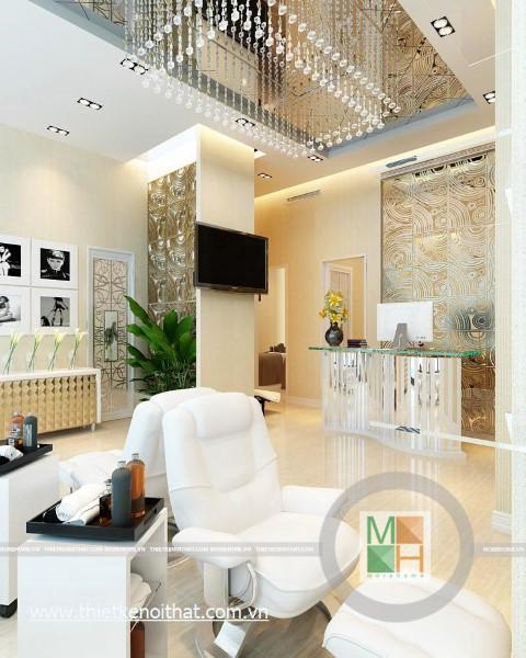 Thiết kế nội thất hiện đại cho Spa tại CHLB Đức