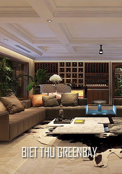 Thiết kế biệt thự cao cấp Vinhomes GreenBay HL30 đẳng cấp