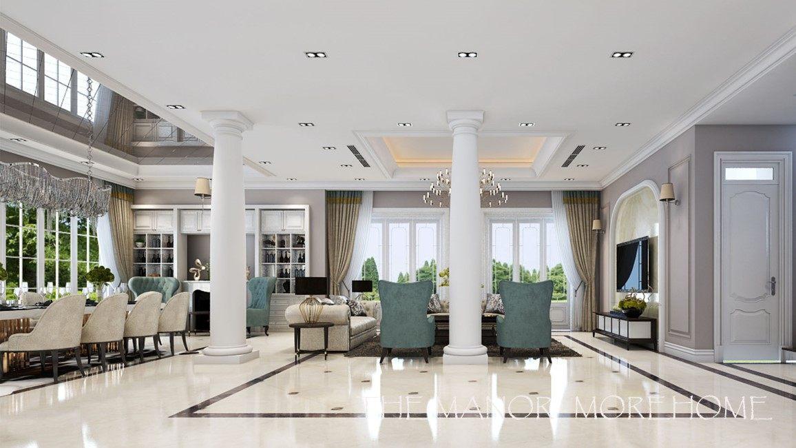 Biệt thự cao cấp The Manor tân cổ điển