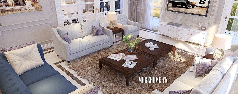 Thiết kế biệt thự Vinhome RiverSide - Hoa Phượng
