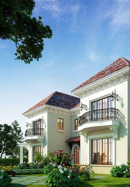 Thiết kế biệt thự nghỉ dưỡng cuối tuần đẹp cao cấp tại Láng Hòa Lạc
