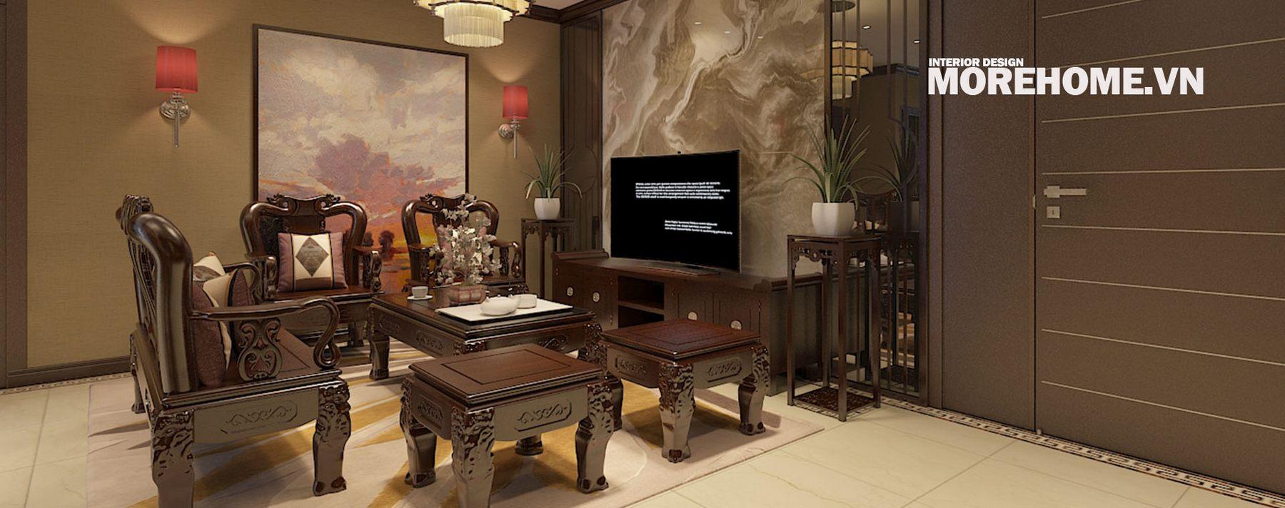 Thiết kế nội thất chung cư Hoàng Quốc Việt