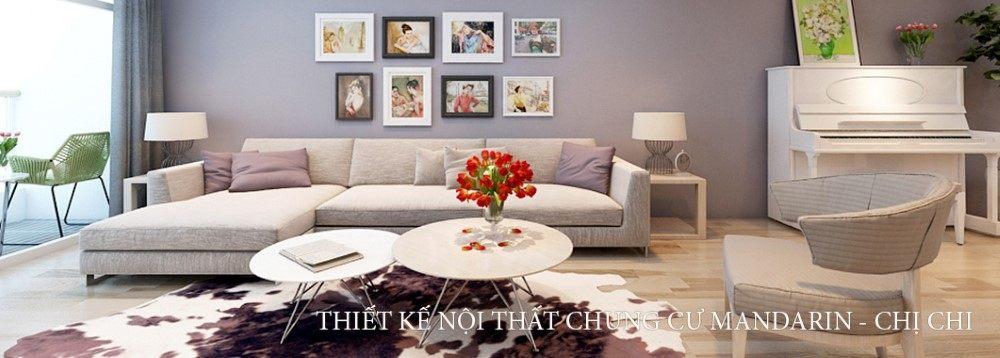 Thiết kế nội thất chung cư hiện đại tại MANDARIN GARDEN