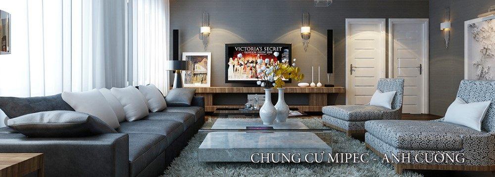 Thiết kế nội thất chung cư hiện đại Mipec
