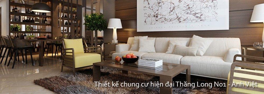 Thiết kế chung cư Thăng Long Number One Hiện Đại - Nhà Anh Việt