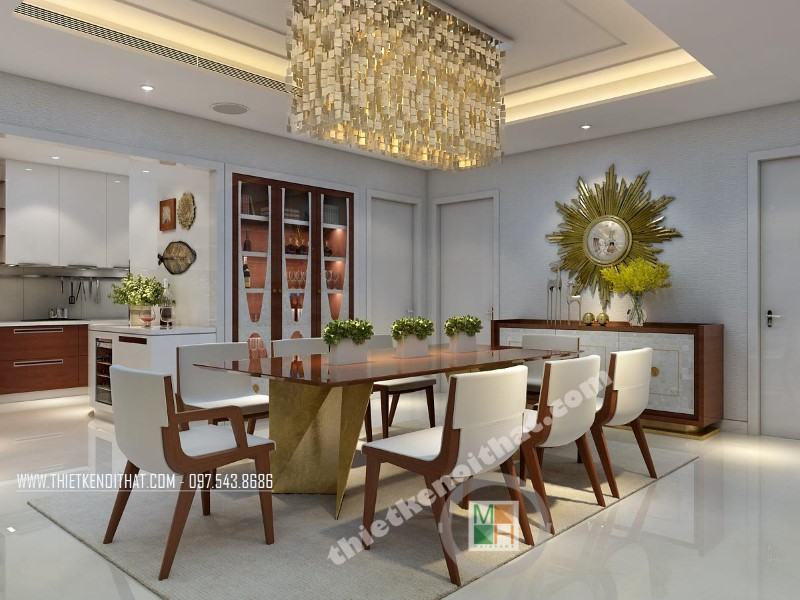 Thiết kế nội thất chung cư VinHome 56 Nguyễn Chí Thanh
