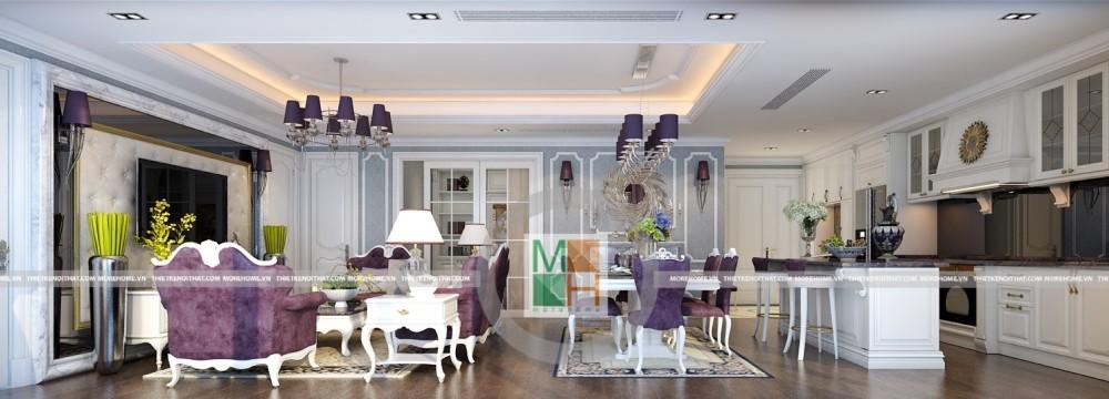 Thiết kế nội thất chung cư Imperia Garden