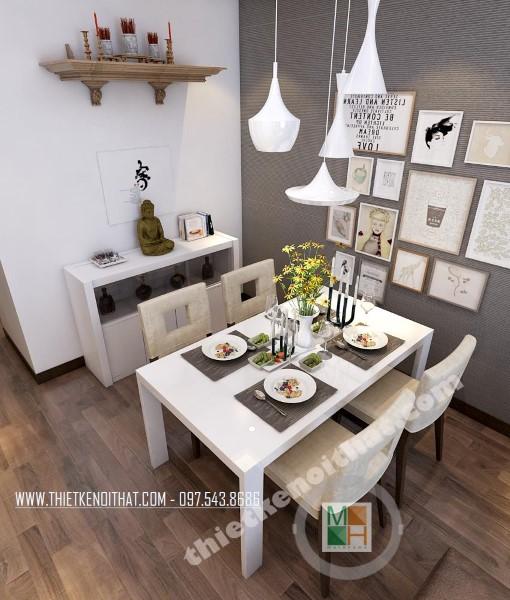 Thiết kế nội thất căn hộ hiện đại tại chung cư Royal City