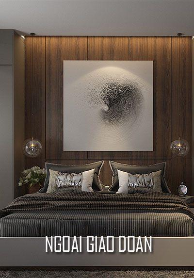 Thiết kế nội thất chung cư Ngoại Giao Đoàn - Chị Nga, trầm ấm