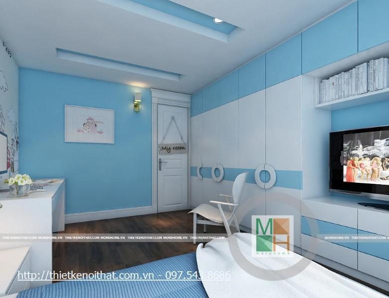 Thiết kế chung cư Mipec phong cách tân cổ điển