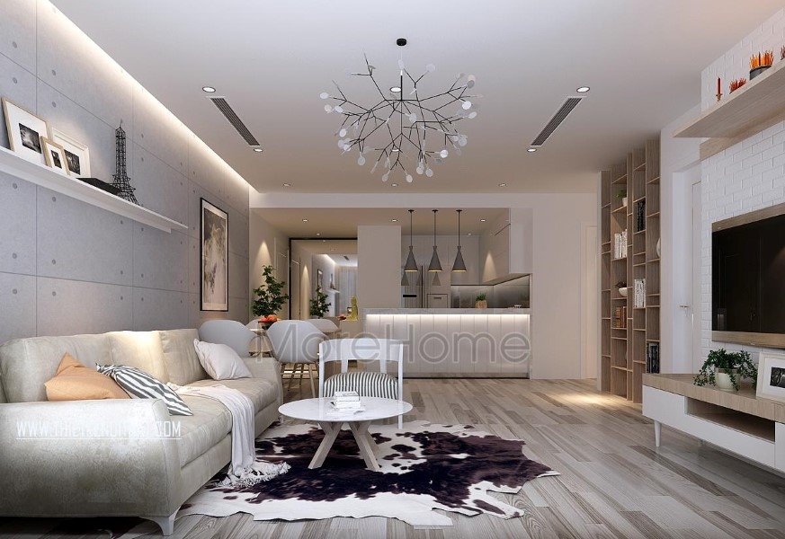 Thiết kế nội thất chung cư Park Hill hiện đại