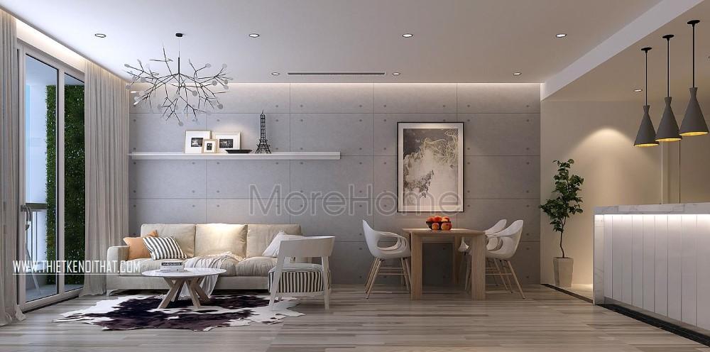 Thiết kế nội thất chung cư Parkhill