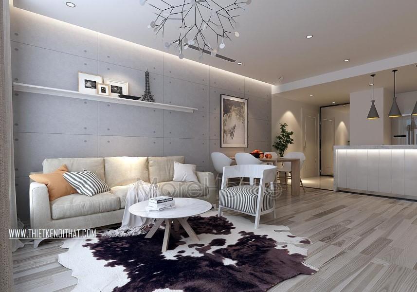 Thiết kế chung cư Parkhill hiện đại