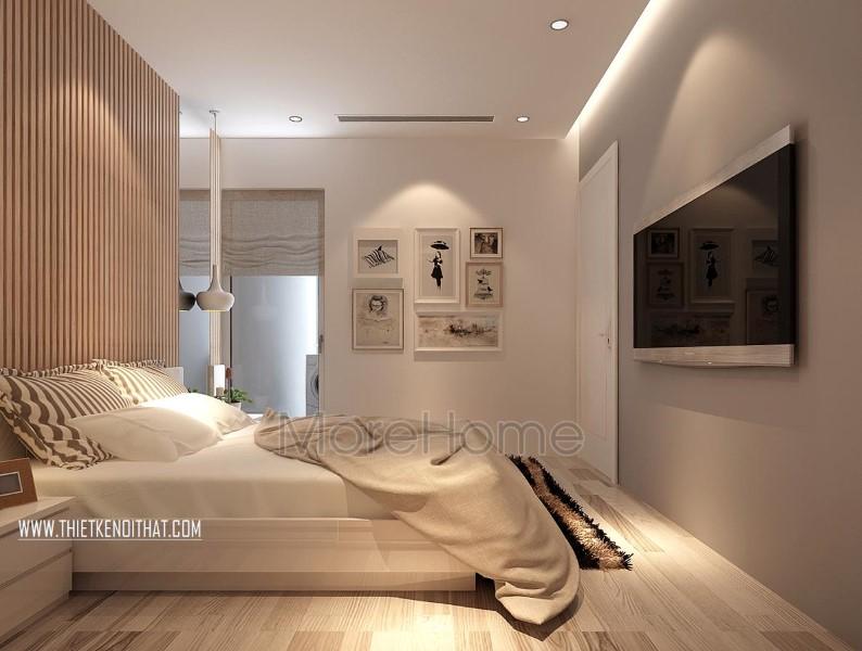 Thiết kế phòng ngủ master Parkhill