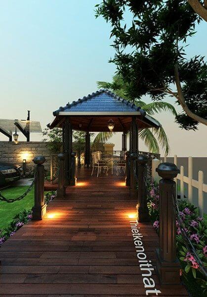 Thiết kế nội thất biệt thự Vinhomes RiverSide HS0352 - [Mr Dũng]
