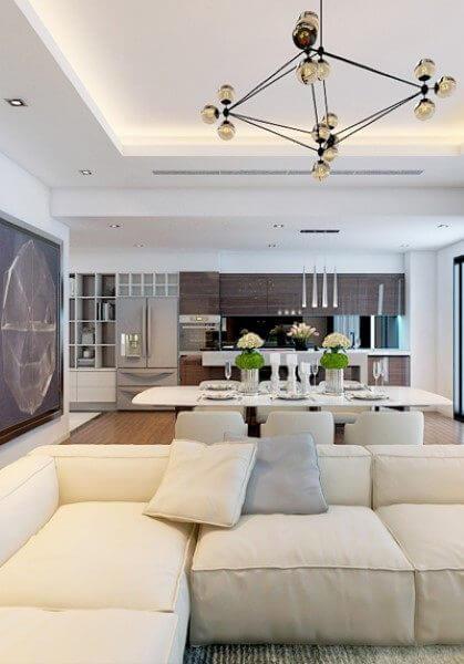 Thiết kế nội thất căn hộ mẫu 120m2 dự án Imperia Garden City - 203 Nguyễn Huy Tưởng