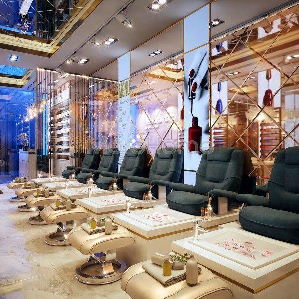 Thiết kế nội thất tiệm làm Nail