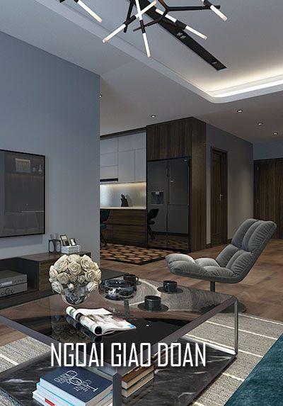 Thiết kế nội thất chung cư cao cấp Ngoại Giao Đoàn - Chị Hằng