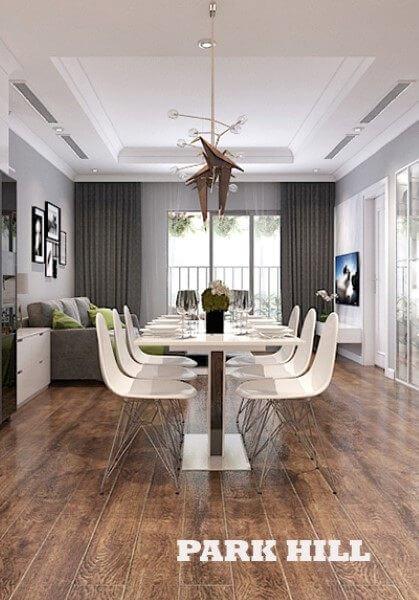 Thiết kế nội thất chung cư ParkHill hiện đại sang trọng