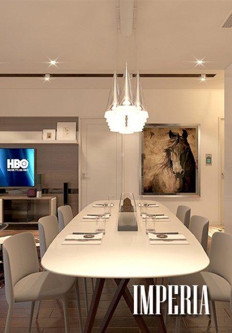 Thiết kế nội thất chung cư căn hộ Imperia Garden - Anh Tuấn