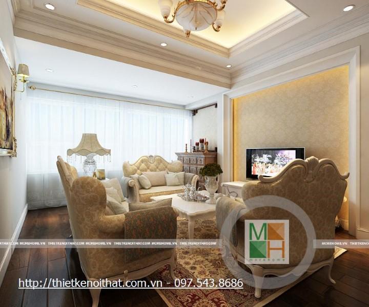 ánh sáng tự nhiên trong thiết kế nội thất chung cư