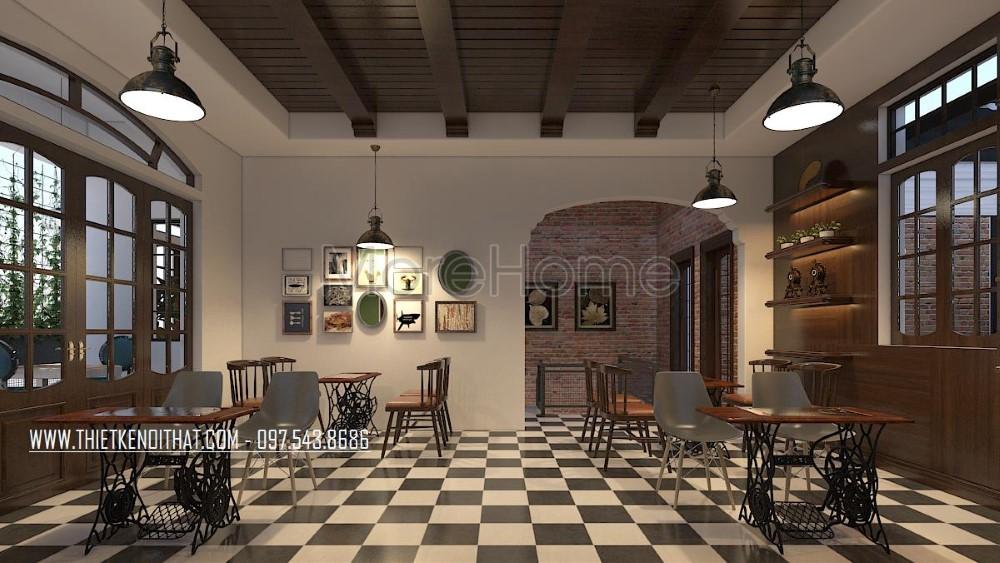 Các phong cách thiết kế nội thất nhà hàng khách sạn níu giữ mọi bước chân thực khách