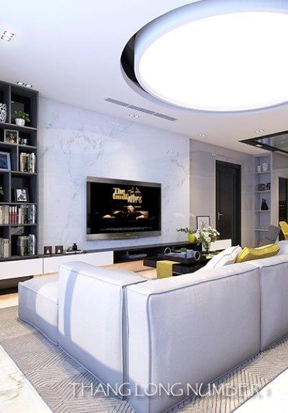 Thiết kế nội thất căn hộ chung cư hiện đại - Thăng Long Number One