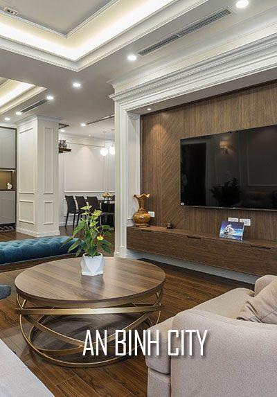 Thiết kế và thi công nội thất chung cư An Bình City đẹp, sang trọng