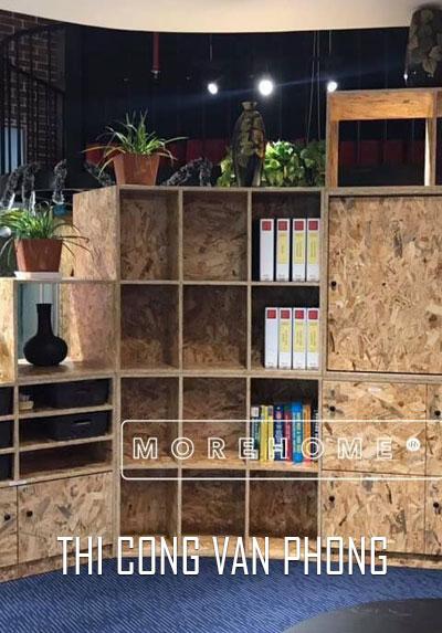 Thi công nội thất văn phòng đẹp hiện đại trẻ trung tại Hà Nội