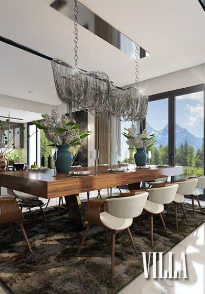 Thiết kế nội thất biệt thự hiện đại cao cấp