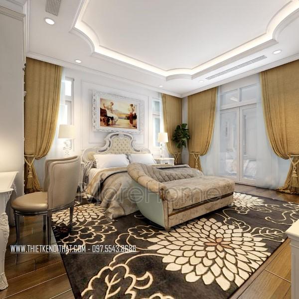 Các mẫu thiết kế nội thất phòng ngủ khách sạn sang trọng và đẳng cấp