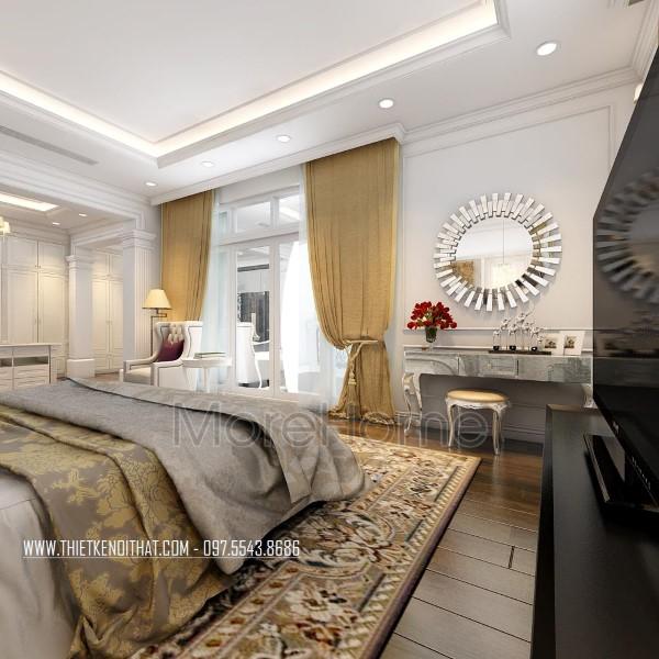 Thiết kế nội thất biệt thự tân cổ điển CIPUTRA