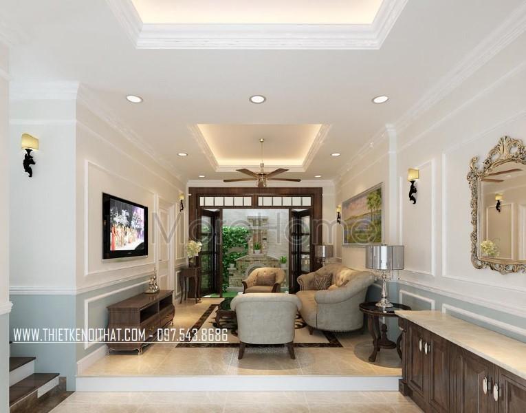 Thiết kế nội thất biệt thự Nguyễn Chí Thanh