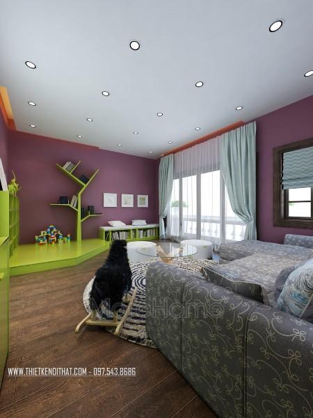kThiết kế nội thất biệt thự Nguyễn Chí Thanh