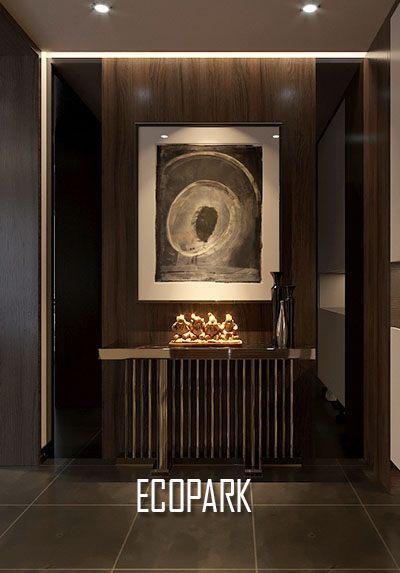 Thiết kế ngoại thất và nội thất biệt thự ECOPARK - Anh Dũng