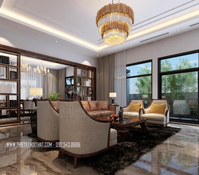 Thiết kế nội thất biệt thự Nam Định hiện đại