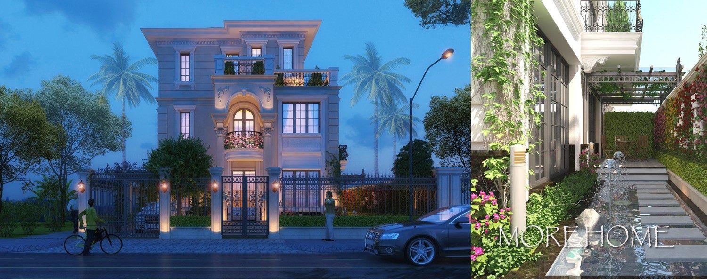 Thiết kế kiến trúc biệt thự cao cấp Splendora