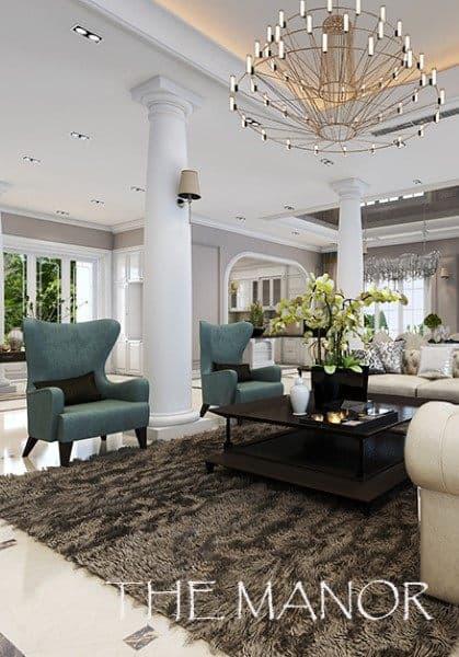 Thiết kế biệt thự cao cấp tại The Manor Lào Cai ấn tượng với phong cách tân cổ điển quý phái