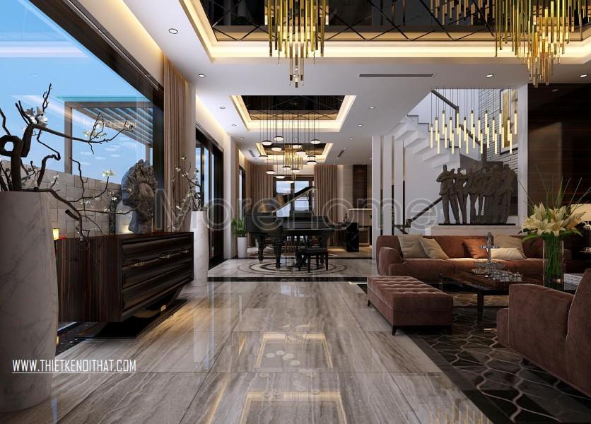Thiết kế biệt thự Vinhomes Riverside cao cấp