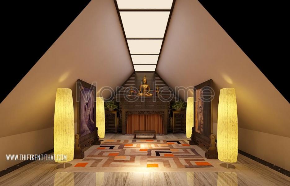 Mẫu thiết kế nội thất biệt thự Vinhomes Riverside cao cấp