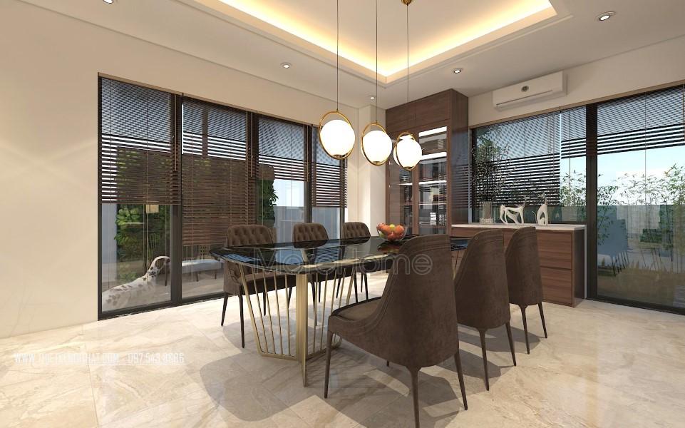 Thiết kế nội thất biệt thự Vinhomes Thăng Long Hoài Đức Hà Nội