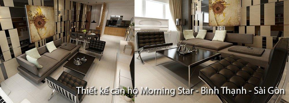Thiết kế căn hộ Morning Star Plaza Bình Thạnh - Chị Minh