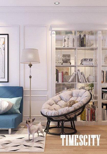 Thiết kế nội thất căn hộ chung cư sang trọng hiện đại tại TimesCity Park Hill - Anh Tùng
